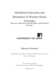Distributed detection and estimation in wireless sensor